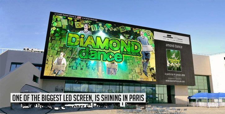 P8 led video big screens