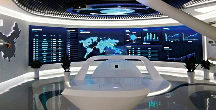 p1.923 small pixel pitch led wall