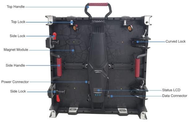 waterproof led wall