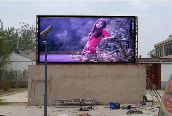 p8 outdoor waterproof led screen