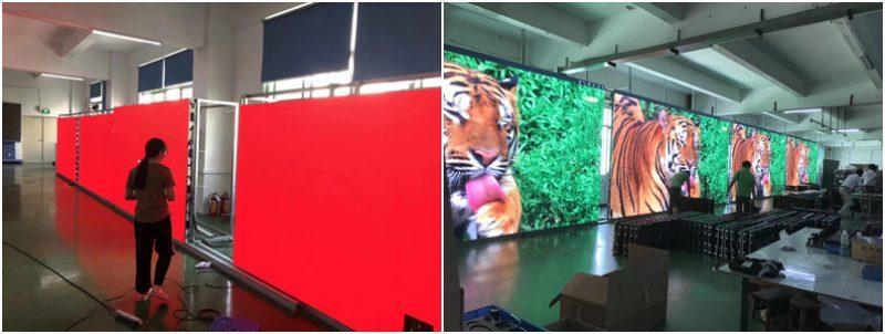led screen age testing