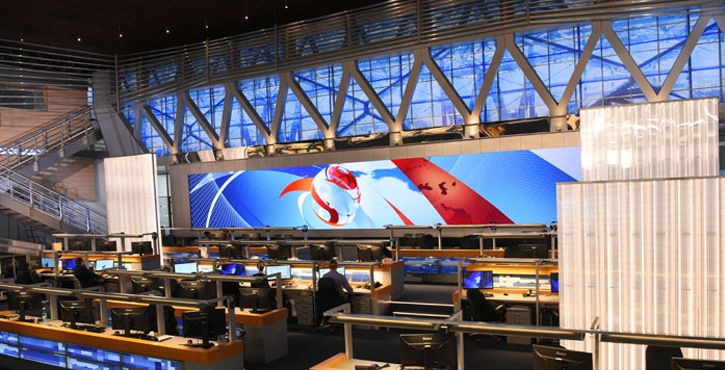 feine Pitch led Display Maueren