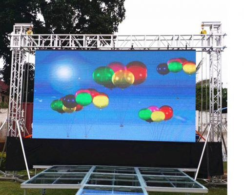 Outdoor-High-Brightness-led wall