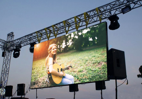 Outdoor-Usag-Video-Display-Function-Led
