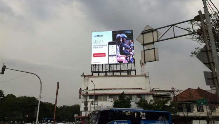 P10 OUTDOOR VIDEO WALL