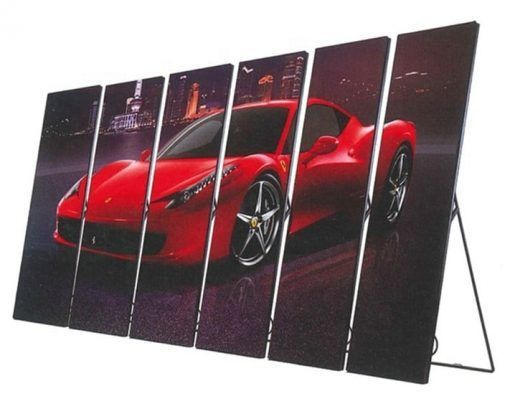 P1.8 Led mirror display indoor full color advertising screen P2.5 P3 poster for shops
