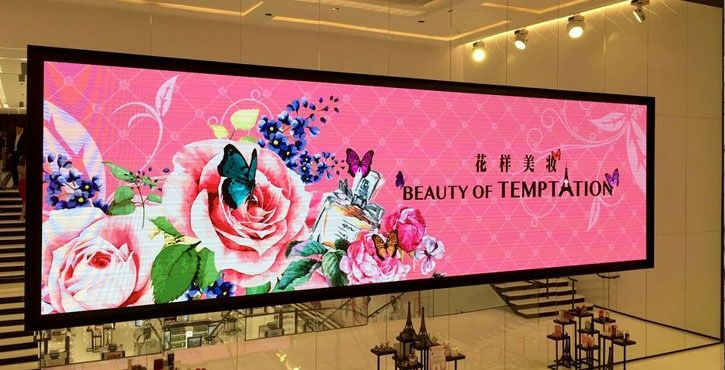 P4 indoor led screen prices