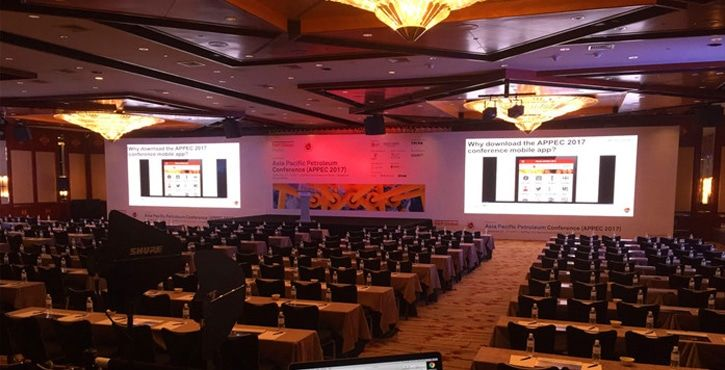 P4.81 indoor led wall