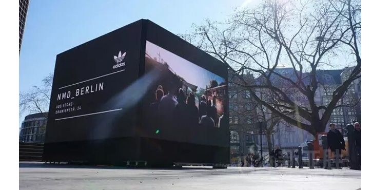 P4.81 outdoor led video wall