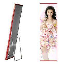 indoor portable digital led screen advertising p2.5 media poster led wall