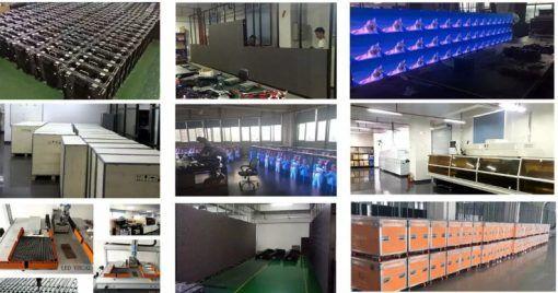 LED panel walls