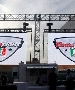 Outdoor P4 81 Stage Background LED Display Big Screen