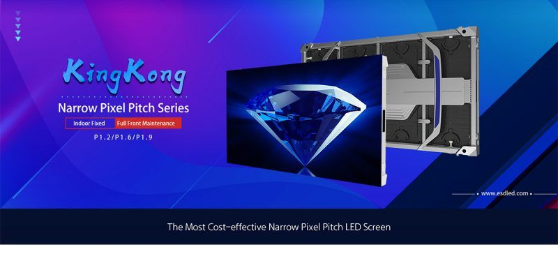 small pixel pitch led video wall