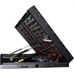 front-service-open-cabinet-P5-P6-P8 led wall (2)
