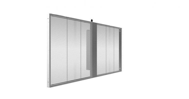 led transparent p3.91 screens