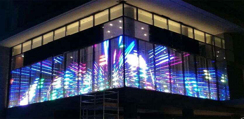 transparent led display screens