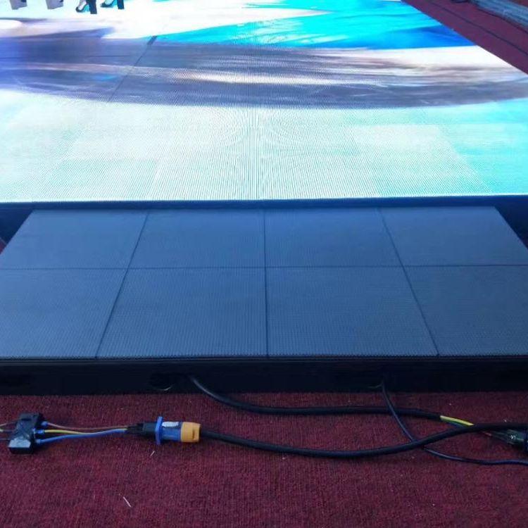 led tile display video (2)