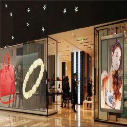 clear led video wall