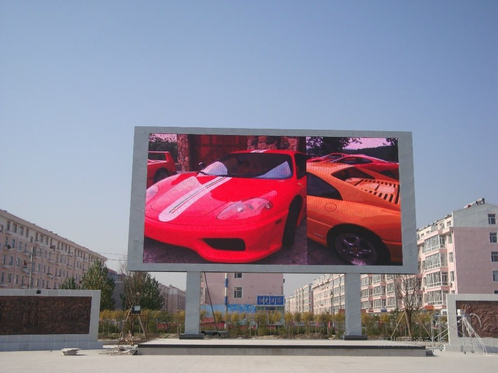 P10 outdoor led wall