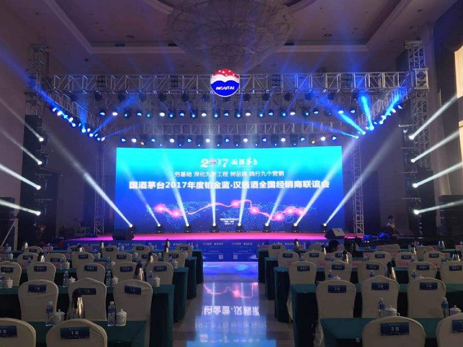 p3.91 led video wall for stage use
